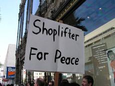 магазинные воры работают по плану