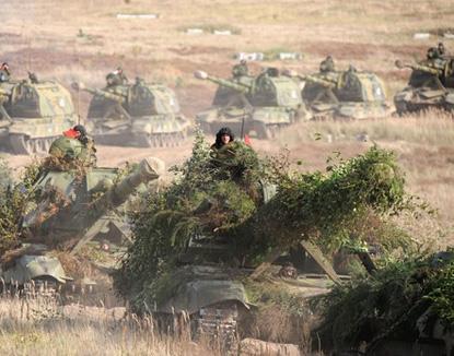"""НАТО обеспокоена российско-белорусскими учениями """"Запад-2009"""""""