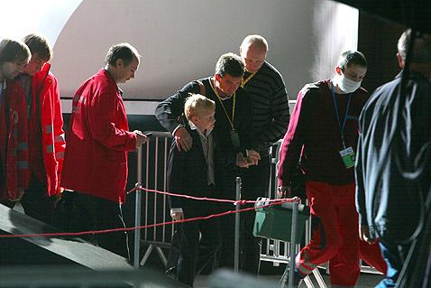 Юра Демидович упал со сцены в день рождения
