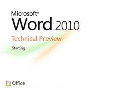 Microsoft представила публичную бета-версию офисного пакета Office 2010