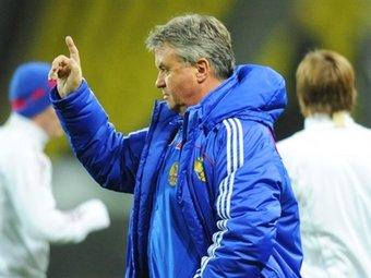 Хиддинк собирается покинуть сборную России по футболу