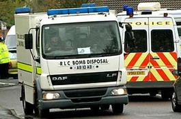 Британские полицейские взорвали неправильно припаркованный автомобиль