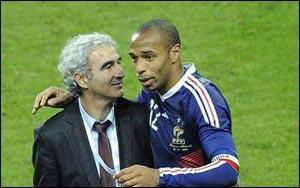 Тьерри Анри грозит дисквалификация и отстранение от матчей Чемпионата Мира-2010