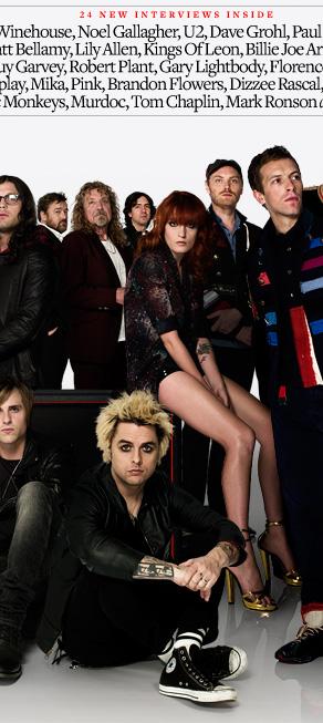 Журнал Q собрал на обложке лучших музыкантов XXI века