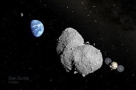 Планируется пилотируемая миссия к астероиду