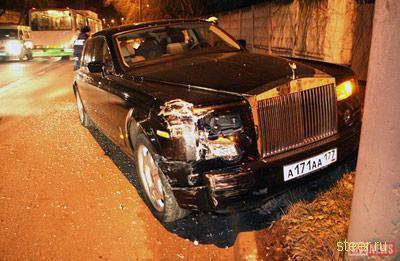 Rolls-Royce Phantom ����� � ������ ��-�� ����, ��� ��� ���� �� ������������� ������ ������