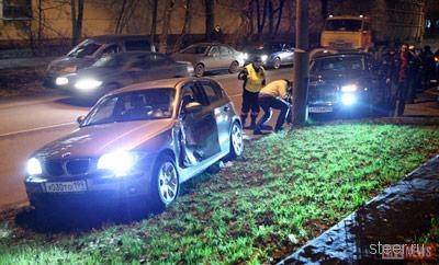 Rolls-Royce Phantom попал в аварию из-за того, что для него не предусмотрена зимняя резина