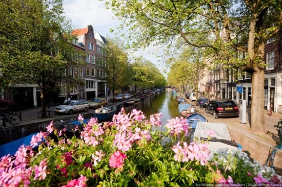 Маленькая прогулка по Амстердаму