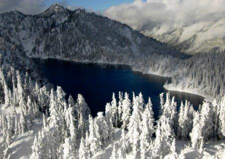 Красивые зимние пейзажи от фотографа Long Bach Nguyen