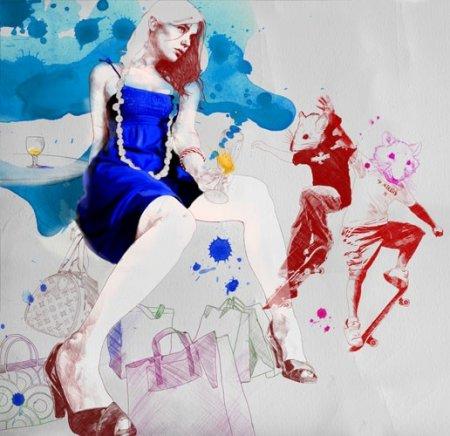Работы иллюстратора Gabriel Moreno