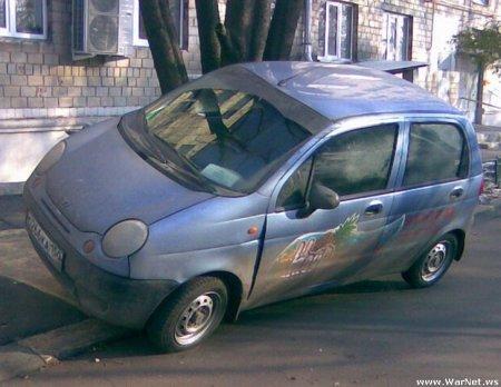 Новый вид парковки