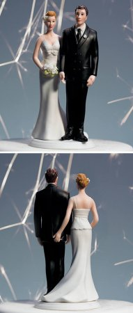 Фигурки для свадебных тортов