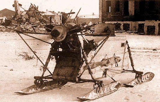 Аэросани во Второй Мировой