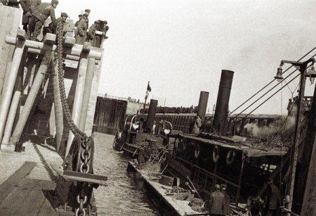 Строительство Беломорско-Балтийского канала, 1933 год