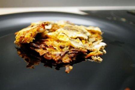 Салака с копчёным сыром