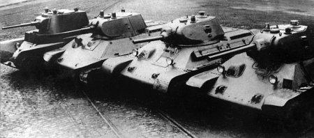 Т-34 - история создания