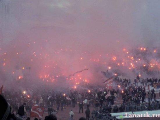 Европейские Ultras - Россия (Спартак Москва)