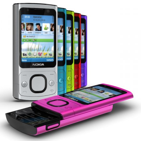 """Nokia 6700 slide и 7230 - """"старые"""" телефоны в новых корпусах и цветах"""