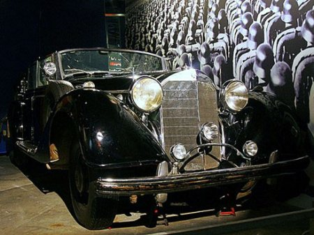 Мерседес Гитлера выставлен на продажу