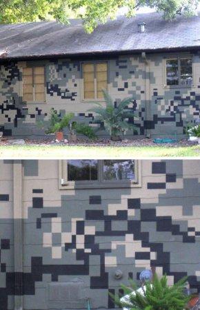 12 странно окрашенных домов