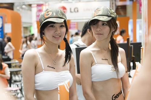 Красивые японки после строгого отбора