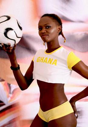 Болельщицы Чемпионата Мира по футболу 2010