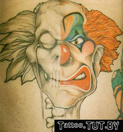 Тату клоунов