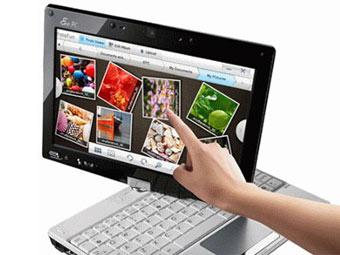 Asus представит перед CES планшетный ноутбук Eee PC T101MT