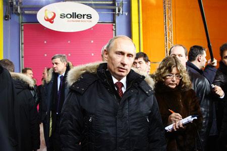 Сильвио Берлускони купил UAZ Patriot