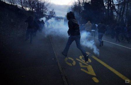 Манифестаций против Всемирной торговой организации в Женеве