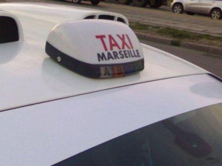 Марсельское такси на улицах Москвы