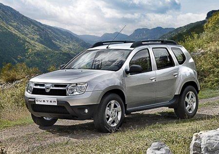 Румыны представили свой первый серийный кроссовер — Dacia Duster