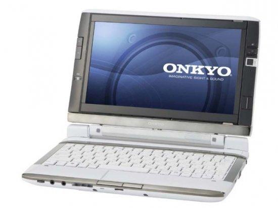 Onkyo Dual Screen DX -Двухдисплейный ноутбук