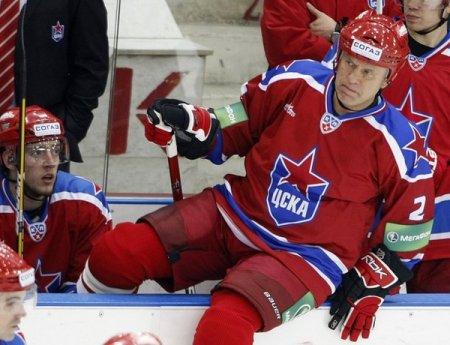 Вячеслав Фетисов сыграл в составе ЦСКА