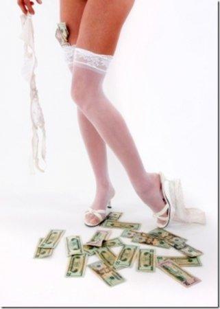 Американки предпочитают деньги сексу