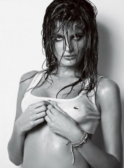 Изабели Фонтана для Homem Vogue