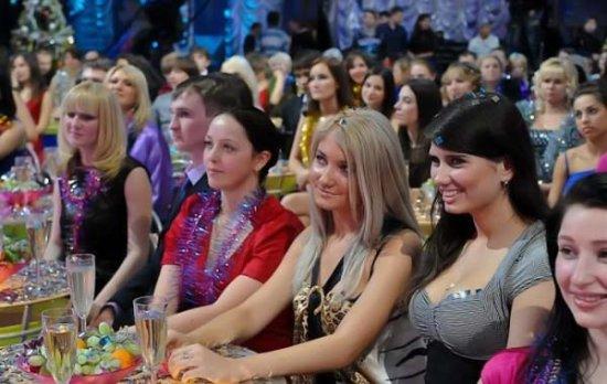 """Голубой огонек на  Шаболовке 2010"""