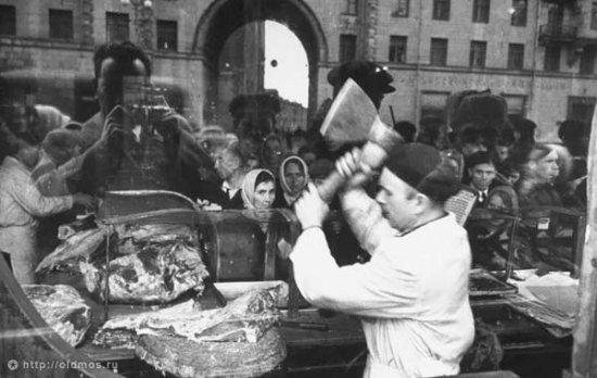 Назад в СССР: уличная торговля