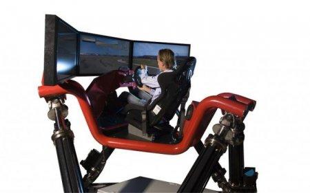 Hexatech Racing Simulator - безумный гоночный симулятор