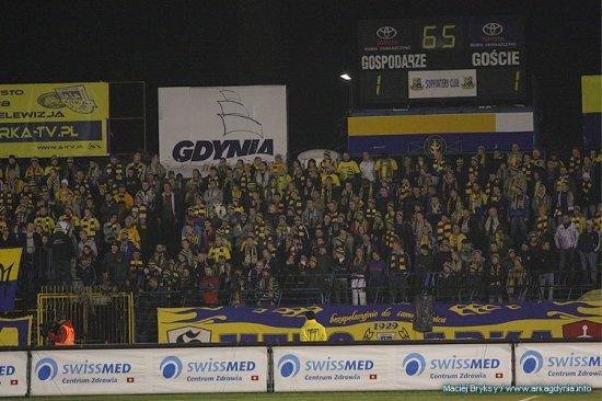 Derby Trójmiasta 27.11.2009 (ARKA GDYNIA-Lechia Gdansk 1:2)