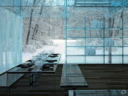 Прозрачный дом