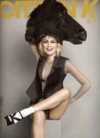 Шарон Стоун великолепна в новой фотосессии журнала Citizen K