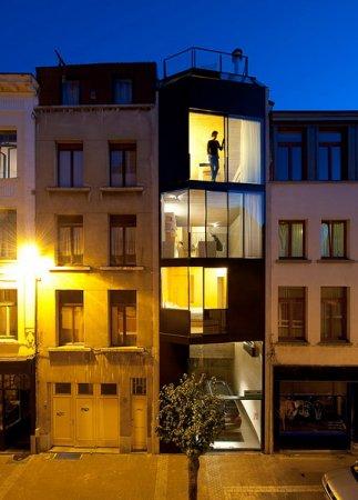 Самый узкий дом в Голландии