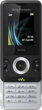 Новый Sony Ericsson W205 Walkman