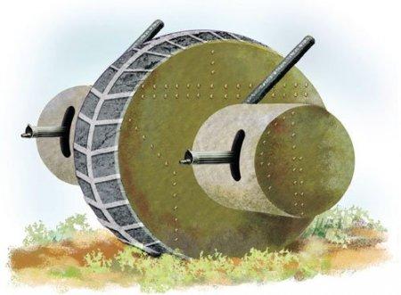 Сфероход и шаротанк - редкая и оригинальная боевая техника всех времен и народов