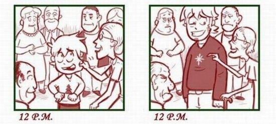 Как я справлял Новый Год раньше и сейчас