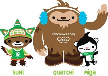 Символ Олимпиады 2010. Ванкувер