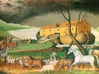 Ноев ковчег оказался круглым