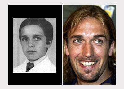 Футболисты в детстве