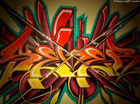 Wallpaper-graffiti (Граффити. Обои на рабочий стол 1600х1200)